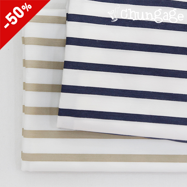Special price) Cotton span) Strip (2 types)