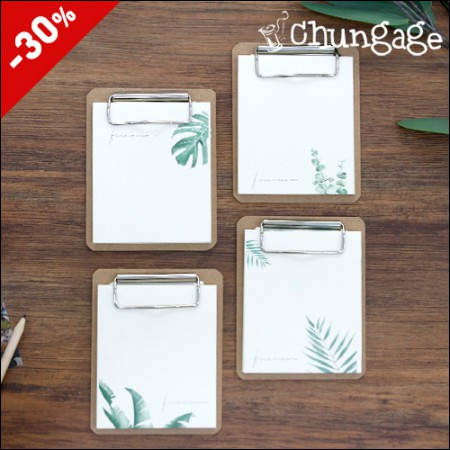 Rice cake memo pad clipboard-Mini