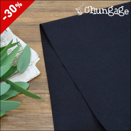 Special price) Cotton span) Solid Navy