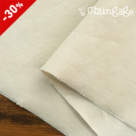 (Limited Special Price) 20 Count Cotton Twill Edition) Solid softbeige