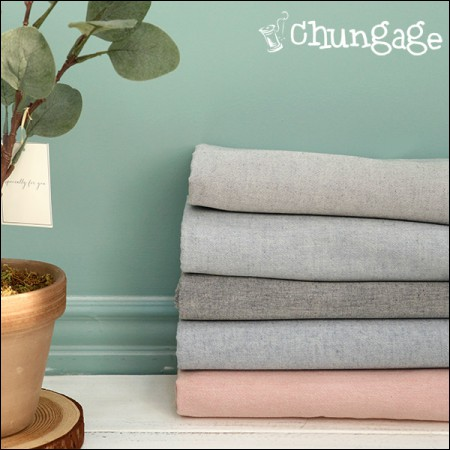 Wide-line dye wash) Solid melange (5 types)