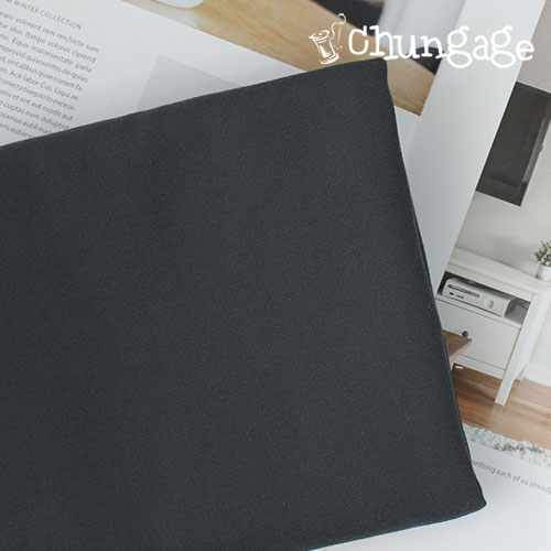 Wide-10 canvas) charcoal gray-pupu