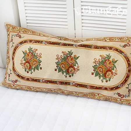 Ethnic style sha-organic antique 2-in-1 cushion 115cm x 57cm