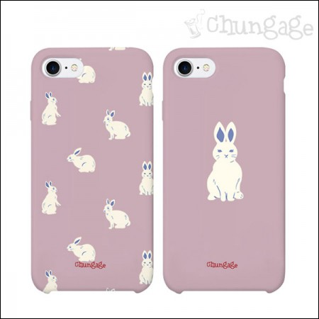 Cell phone case Lara rabbit (two kinds) CA007 iPhone Galaxy all models phone case