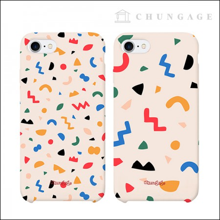Cell phone case Mallow Terrazzo (2 types) CA023 iPhone Galaxy All models phone case