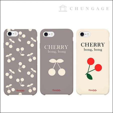 Cell Phone Case Cherry Bonbon (3 types) CA004 iPhone Galaxy All Phone Cases