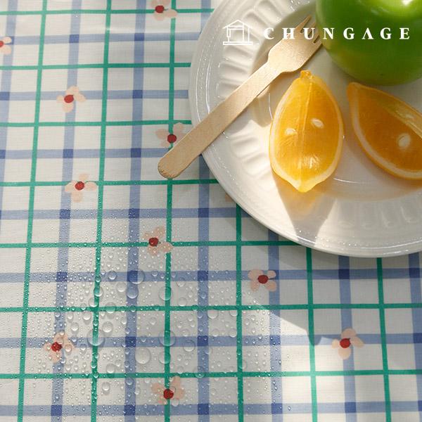 Waterproof fabric non-toxic TPU laminate fabric kitsch check
