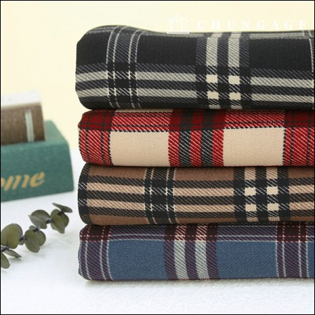Wide-Uldobi) Royal Check (4 types)