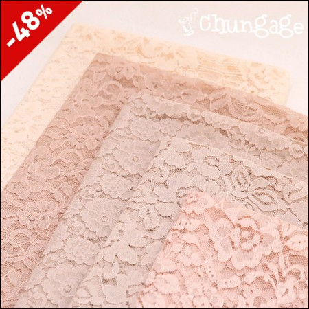 Limited special price) Wide-net sandal lace) pink mood (five kinds)