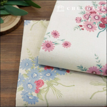 Linen 11 large print cloth daisy buckle two kinds
