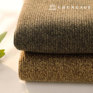 Widely double-sided bonding fabric knit & dumble