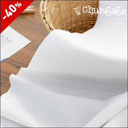 Limited Specials) Wide-Cotton span) Washing Solid White