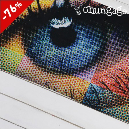 Limited special price) wide-laminate cut paper) eyes