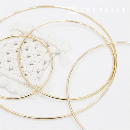 Macrame Gold Ring Dream Catering 4 Types