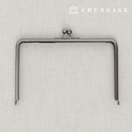 Deep Square private capital frame 18.5cm metal gray