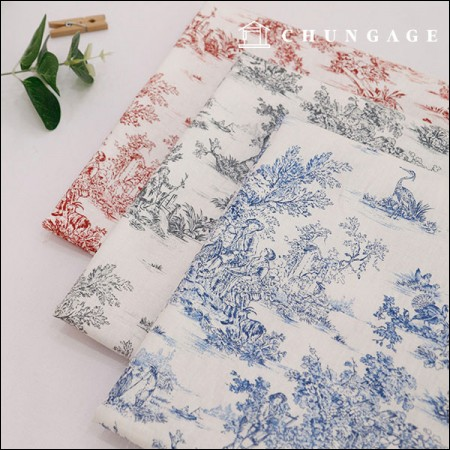 Dramatic summer linen fabric romantic french 3 kinds