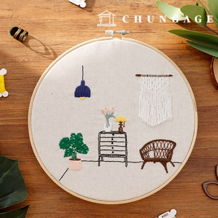 French embroidery package DIY kit macrame [CH-511209]