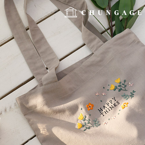 French Embroidery Package DIY Kit Happy Bag Eco Bag [CH-560111]