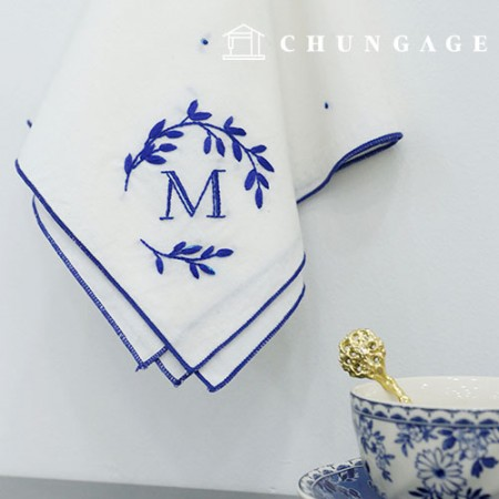French embroidery package DIY kit mare handkerchief [CH-513512]