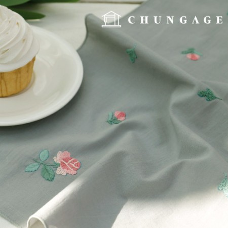French Embroidery Package Flower DIY Kit Scattering Flower Handkerchief CH-513500