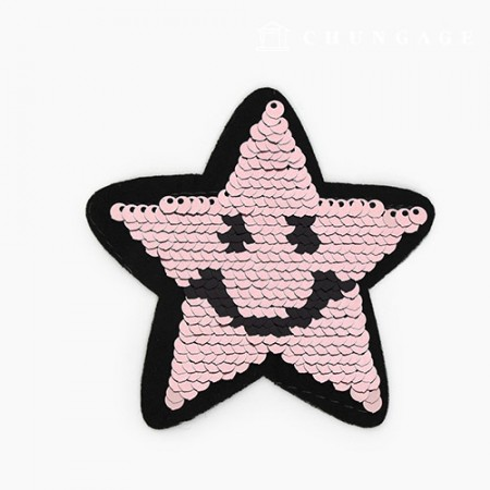 Adhesive and Fan Spangle Twinkle Indie Pink