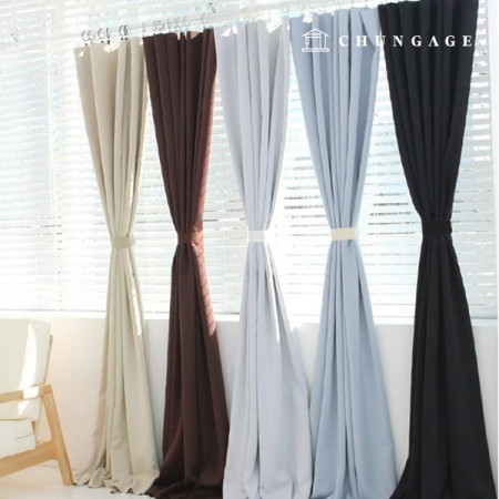 19 kinds of 3medium blackout curtain fabric large plain curtain fabric blair