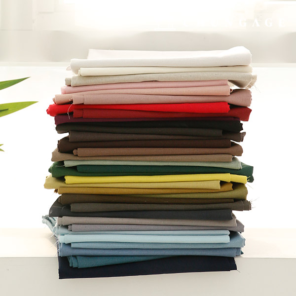 Linen Wide Fabric Cotton Linen 11 Count Summer Plain Fabric 33 Types D Linen