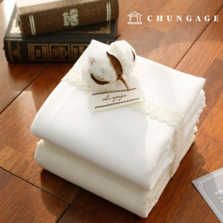 Non-fluorescent cotton napping plain fabric 2 kinds of soft, it is good to make hygiene products