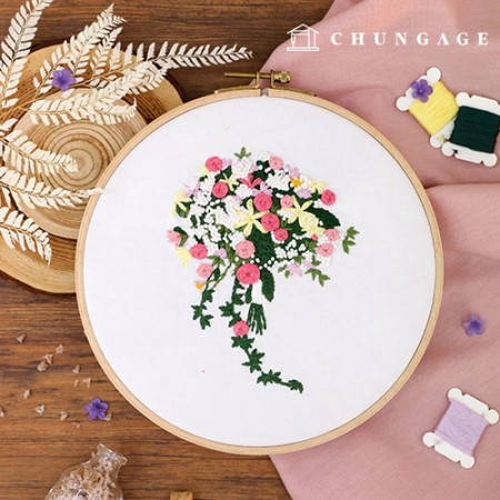French embroidery package Flower DIY kit fragrant star [CH-511163]