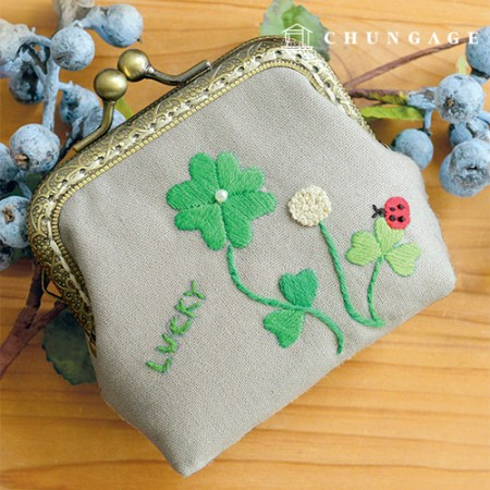 French embroidery package Flower DIY kit luck charm [CH-511801]