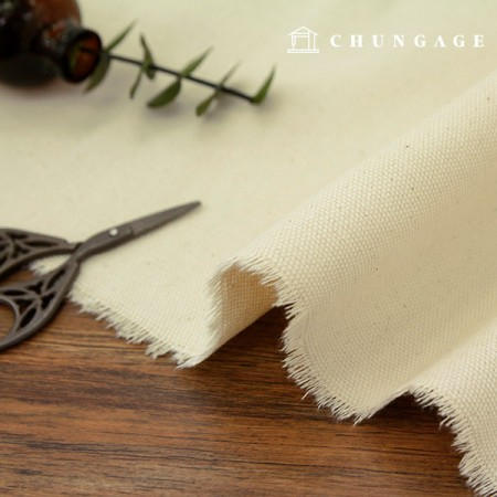 Canvas dough fabric 10 number wide cloth light color