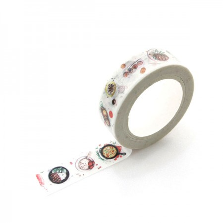 Design Paper Masking Tape Cooking Class TA090