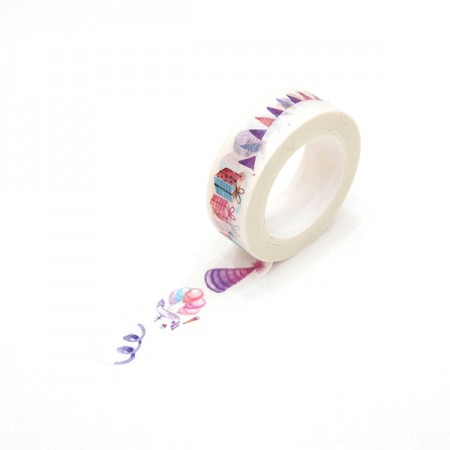 Design Paper Masking Tape Birthday Party TA092