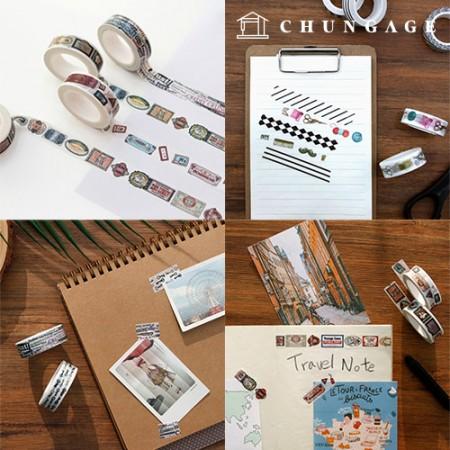 Design Paper masking tape unique collection 11 kinds