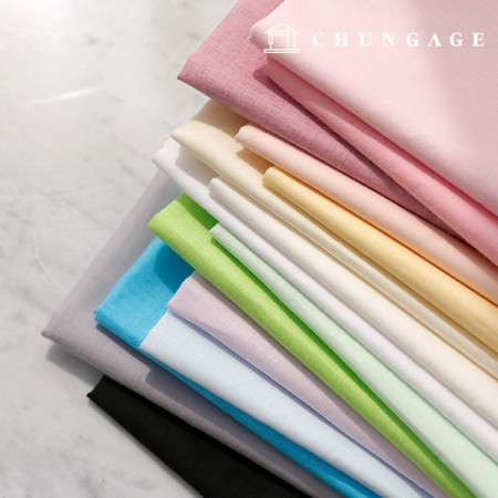 60 Count Asa Fabric Pure Cotton Summer Plain Fabric 15 Types Thin Light