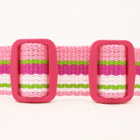Color pop plastic wall hook 25mm Jin pink