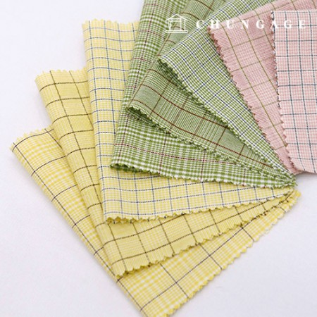 20 Washing ombre fabric Check Fabric Spring Check 8 types