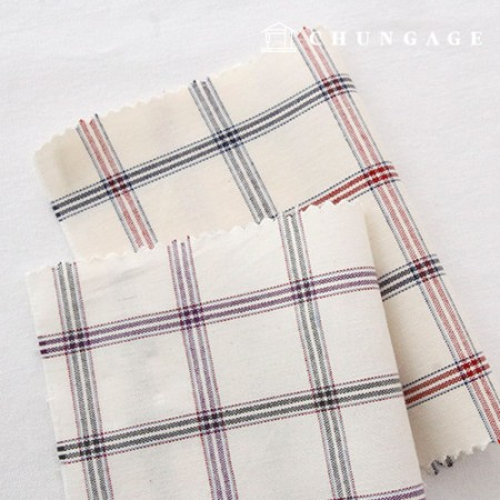 20-piece ombre fabric Check Fabric 2 types of window check
