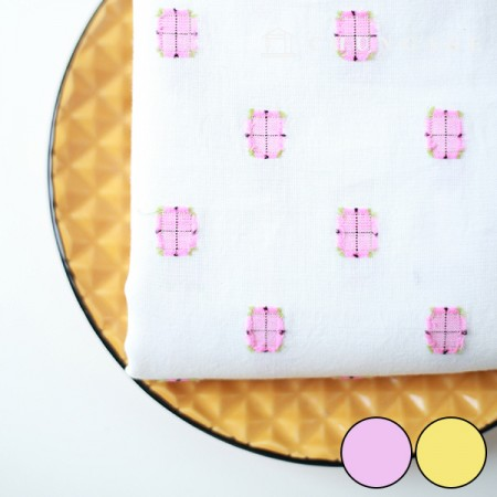 30 Count Gauze Dobby Ombre Check 2 types