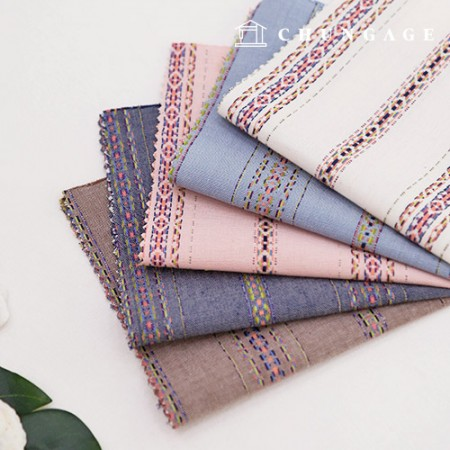 20-piece ombre fabric stripe fabric ethnic stripe 5 types