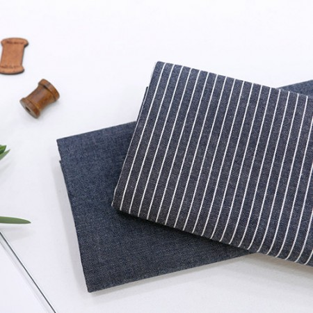 Wide Denim Fabric Blue Washing Fabric Retro 2 Types