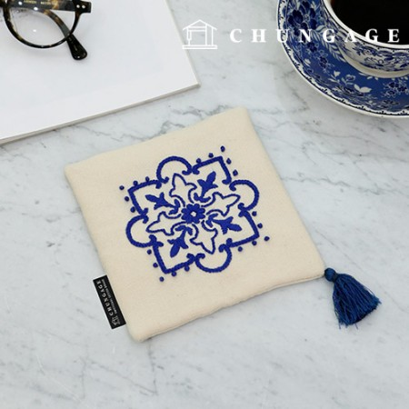 French Embroidery Package DIY Kit Moroccan Tea Coaster CH-616067