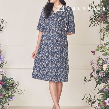 Clothes Pattern Women's Dress Costume Pattern P1271