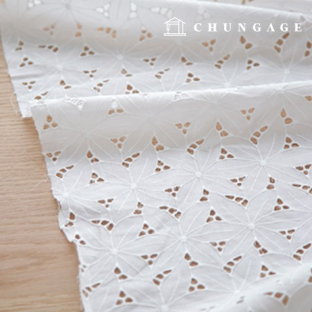 Cotton Race embroidery fabric