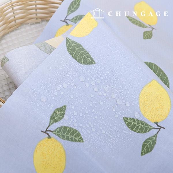 Waterproof fabric non-toxic TPU laminate fabric lemonade
