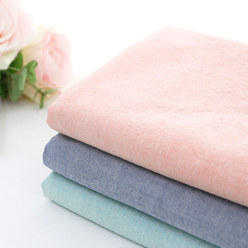 Widely Melan Washing Ombre Cotton Fabric Plain Fabric Cotton Candy 3 Types