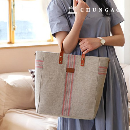 Bag Pattern Simple Tote Bag P1378
