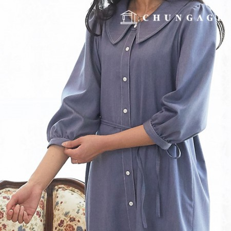 Clothes Pattern Women's Dress Costume Pattern P1371