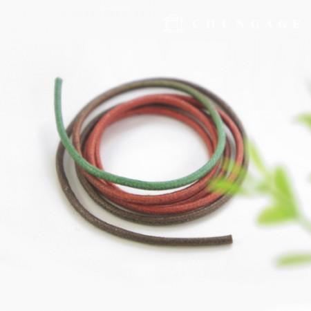 Gradation Oshidori Cotton String 2mm Green