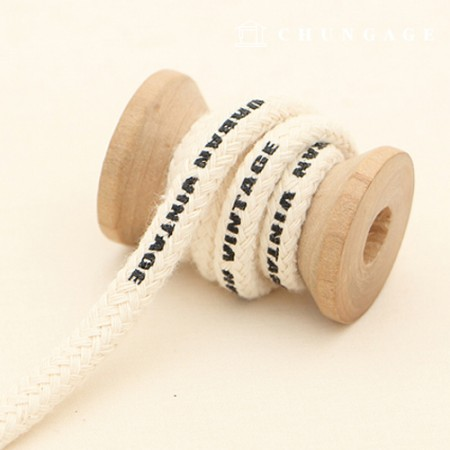String Cotton String Urban Vintage Round String String Udon String Natural Mask Strap Making